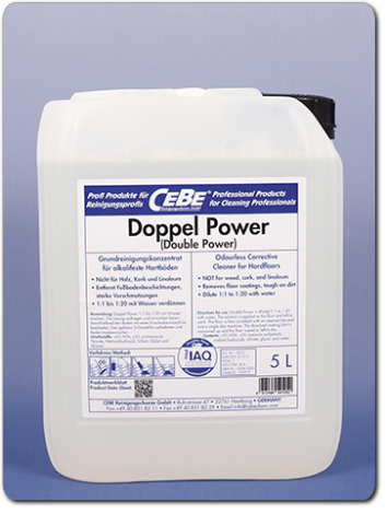 Double Power - highly alkaline stripper from CEBE Reinigungschemie GmbH