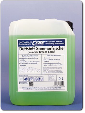 Scents - Additive for cleaning products from CEBE Reinigungschemie GmbH