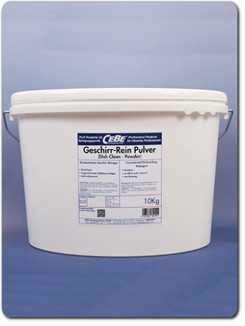 Dish Clean-Powder - in powder form for dishwashers in gastromy from CEBE Reinigungschemie GmbH
