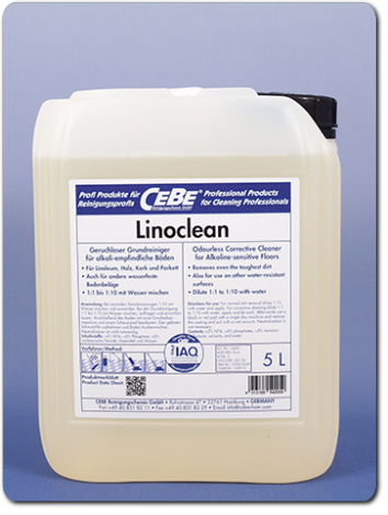 Linoclean - Stripper for floors from CEBE Reinigungschemie GmbH