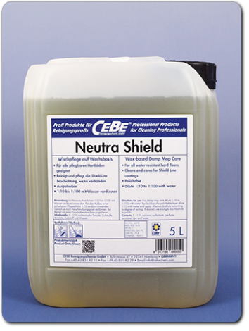 Neutra Shield - acrylate-based damp-mop care from CEBE Reinigungschemie GmbH